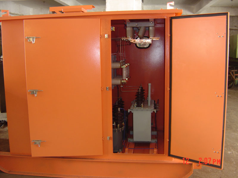 矿用非标移动高压开关柜
